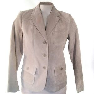 Style & Co Suede Jacket Light Tan